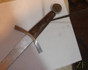 10 рис. процесс изготовления рукояти дюралевого меча