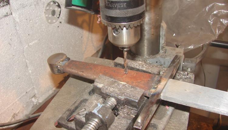 Изготовление меча с креплением клинка к рукояти «сварной стакан»