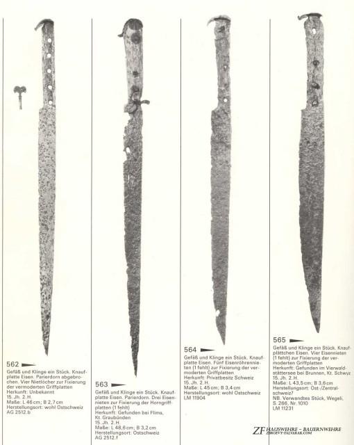 """Немецкие """"крестьянские ножи"""" Hauswehre и Bauernwehre"""