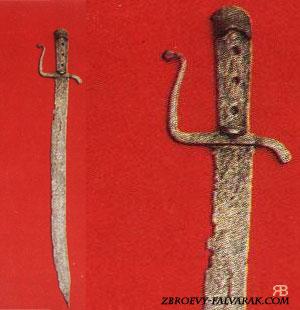Корд из национального музея в Варшаве (Польша) XV в.