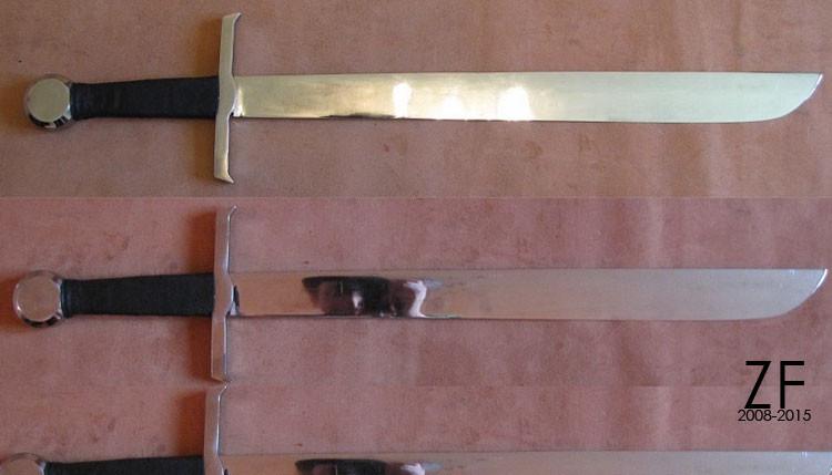 Фальшион бугуртный Это стилизация фальшиона Коуниерза (Conyers falchion)