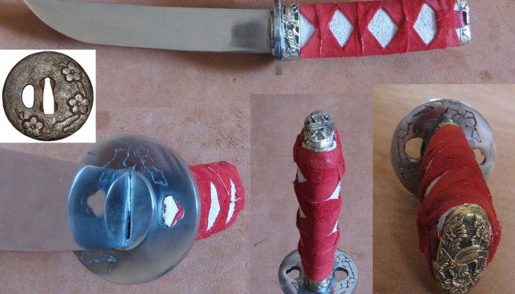 Украшение средневекового оружия методом травления