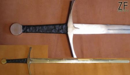Стальной меч из игры Обливион