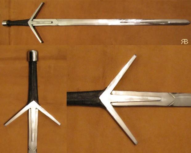 Как сделать мечи в ведьмаке 3 91