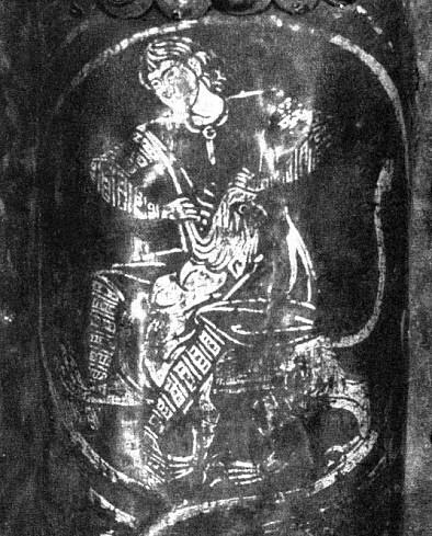 Деталь Золотых Врат из Суздаля, рубеж 12-13 вв.