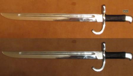 Штык к японской винтовке Арисака, образца 1897 год тип 30