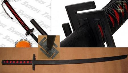 Косплей версия меча (Дзангэцу (Zangetsu) Ичиго (аниме Bleach)