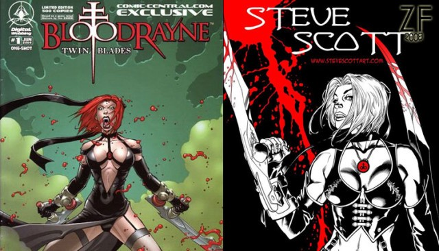 Изображения клинков Бладрейн (BloodRayne Twin Blades) в просторах интернета