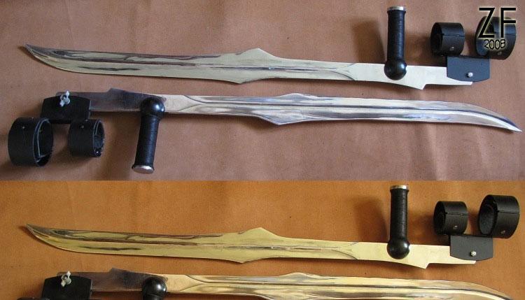 Клинки Бладрейн (BloodRayne Twin Blades)