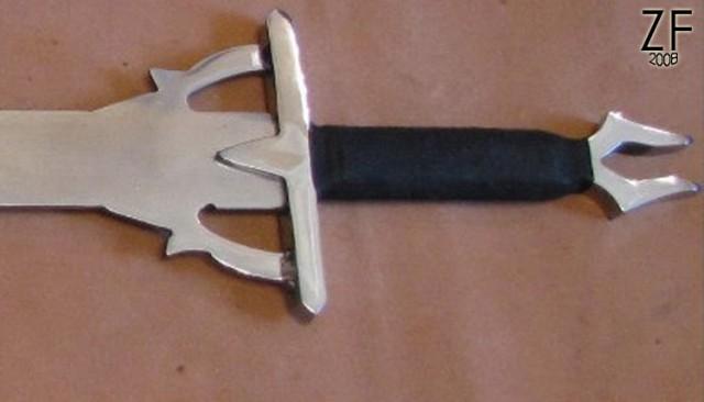 """Стилизация меча Кирито, Чёрного мечника, от мастерской """"Зброевы фальварак"""""""
