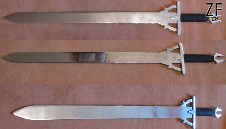 Стилизация меча Кирито, Чёрного мечника