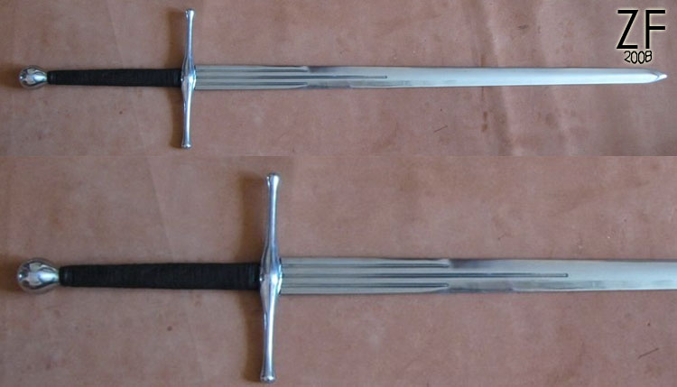 """Двуручный меч, ХIХ тип по Окшотту от мастерской """"Зброевы фальварак"""""""