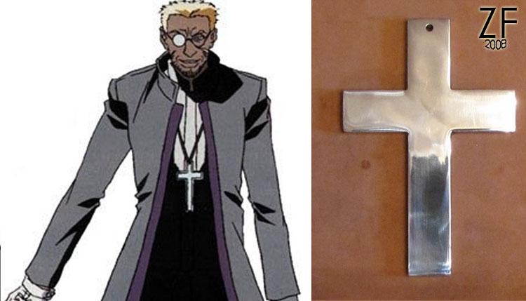 Крест Александра Андерсона из аниме Хе́ллсинг (Hellsing) TV версия