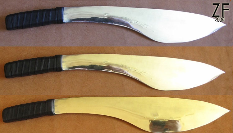 Кхукри и Кукури - национальная форма ножа, используемого непальскими гуркхами