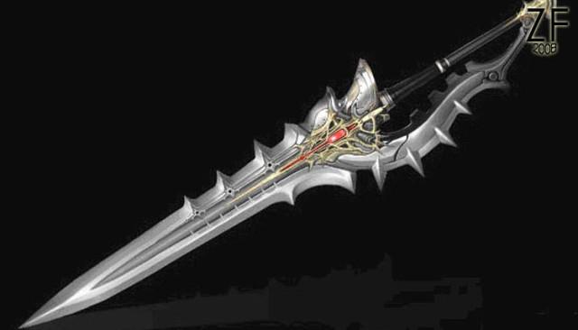 Меч Icarus Heavy Arms из игры Lineage II - оригинальная версия, с которой мы делали косплей версию