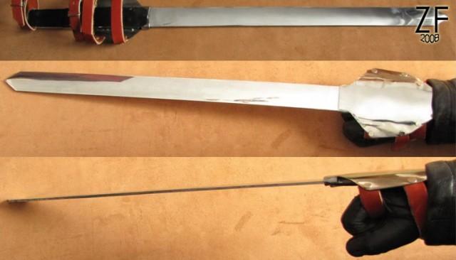 Крепление меча Скоала Мечника, аниме «Home Tutor Hitman Reborn!»