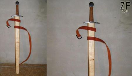 Ножны на романский меч