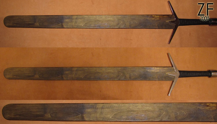 Простые ножны на меч ведьмака (тип А)
