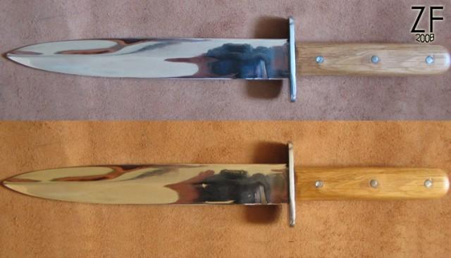 """Окопный нож периода 1-ой мировой войны, Австро-Венгрия, версия от мастерской """"Зброевы фальварак"""""""