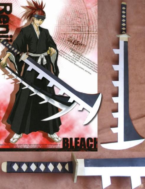 Косплей версия меча (Дзанпакто) Рэндзи Абараи (аниме Bleach)