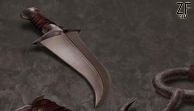 Кинжал Ведьмака из игры The Witcher, оригинальное изоброжение