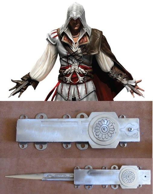 Скрытый клинок из игры Assassin's Creed II (стилизация)