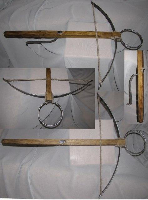 Арбалет, часть экспозиции по литвинской шляхте на XVII век (муляж)