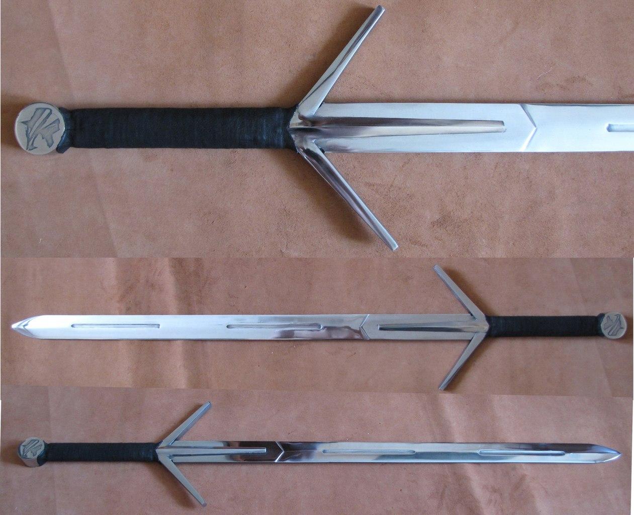 Как сделать мечи в ведьмаке 3 37