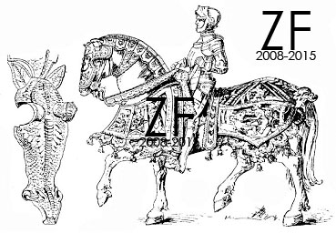 парадные доспехи, а так же защиту коня императора Максимилиана I