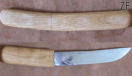 Айкути (Aikuchi – японский боевой нож)