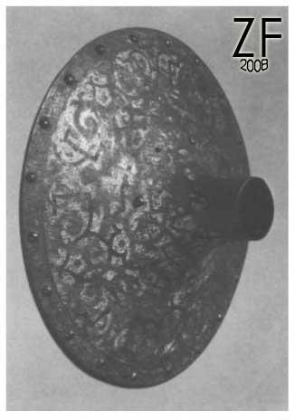 Защитный диск копья от турнирного комплекта Миколая «Черного»