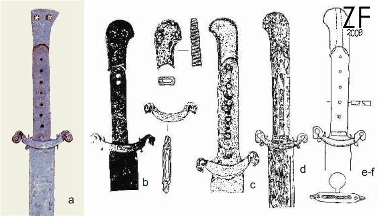 Корды средневековья и нового времени из Силезии