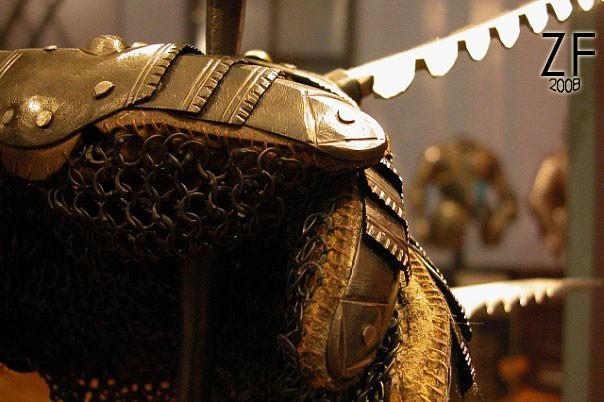Элемент латной рукавицы и кольчужного полотна - рондаш траншейный