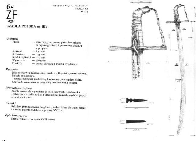 Польская сабля, тип 3b (Заблоцкий)