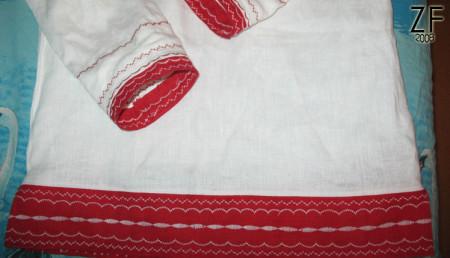 Беларуская народная рубашка 1920-1930 годов