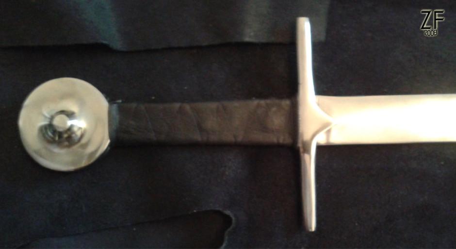 Рукоять меча тип XVIII по Окшотту - стилизованная версия