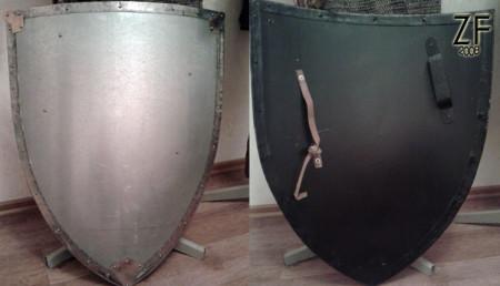 Рыцарский щит - тарч (стальная версия)