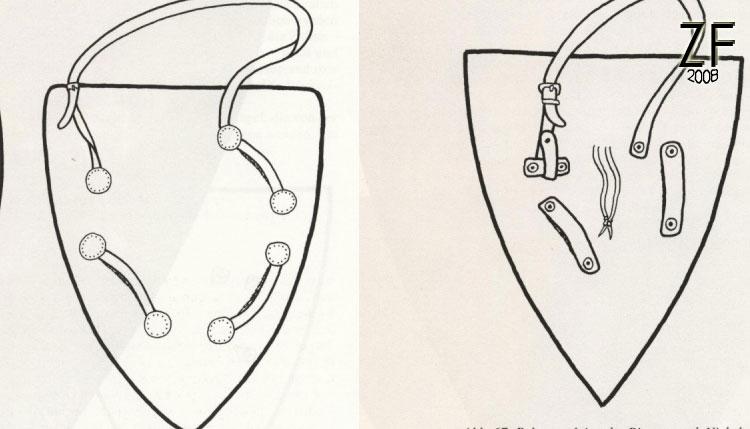 Вариант ременной система для щита