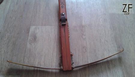 Арбалет с деревянной дугой