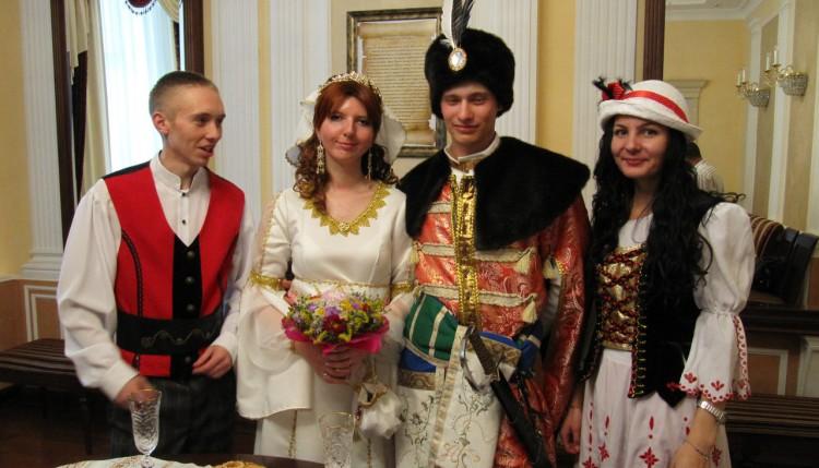 Свадьба в шляхетском стиле в городе Гомель (фото)