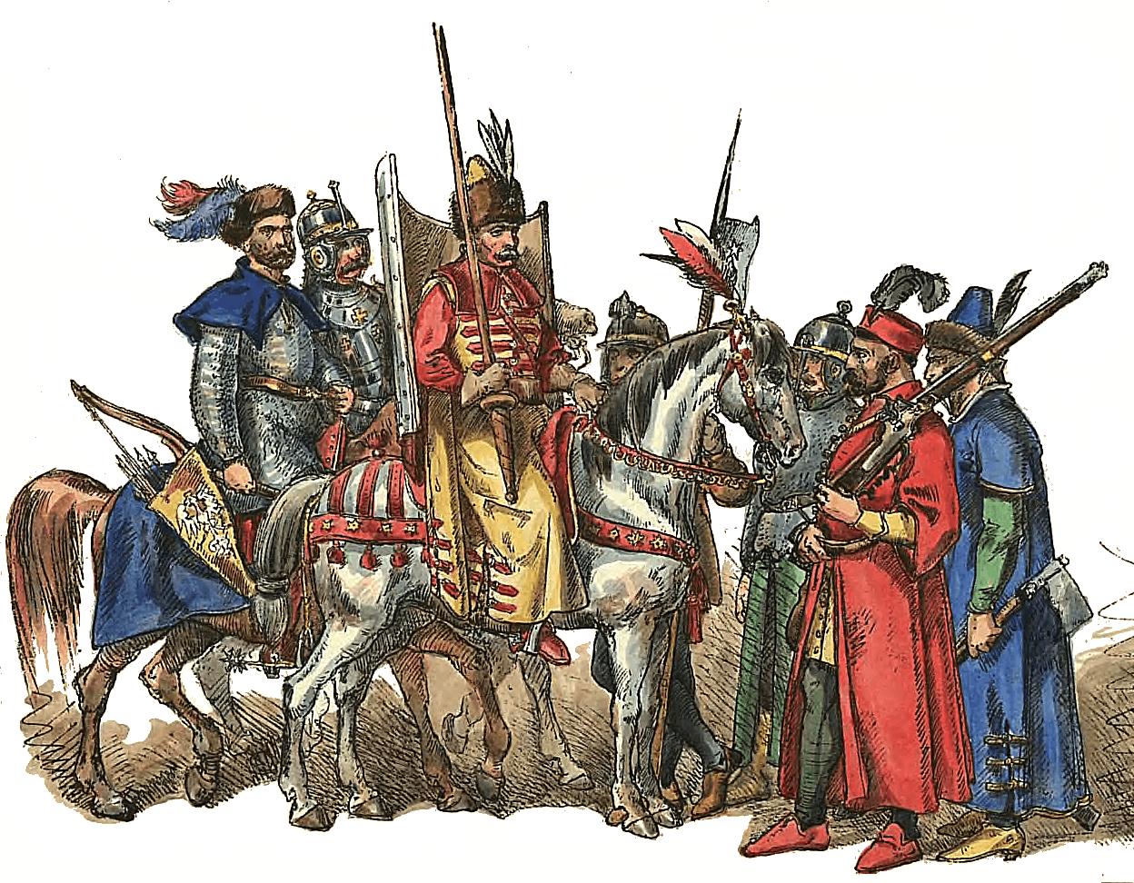 Польско-литовские войска в 1576-1648