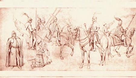 Структура войск ВКЛ в середине XVII века