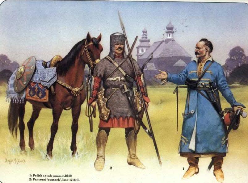 Казацкая кавалерия, панцерная