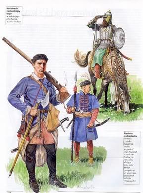 Польская (литовская, угорская) пехота (пехота национального набора)
