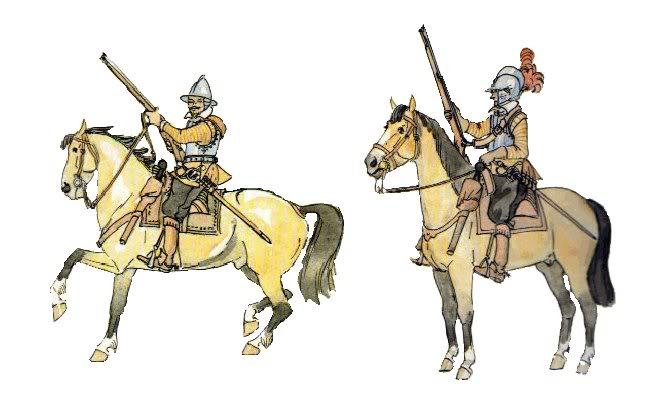 Рейтары Крыштофа Радзивилла 1617-1622