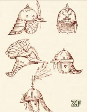 Варианты: шлем шишак