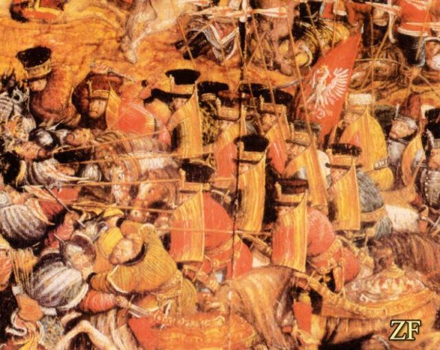 Оршанская битва 1514 год: изображение первых гусар