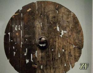 Круглый щит викингов