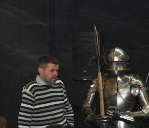 Юрий Устинович, один из основателей исторической реконструкции в Беларуси