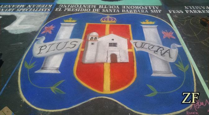 Санта Барбара, Геральдика - щит адарга